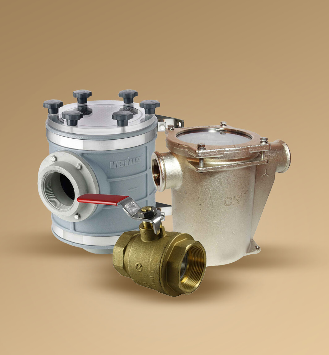 Shop Strainers, Fittings & Valves