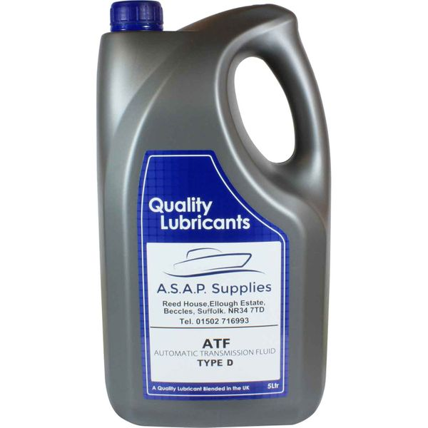 DriveForce ATF-D Automatic Gearbox Oil (5 Litres)