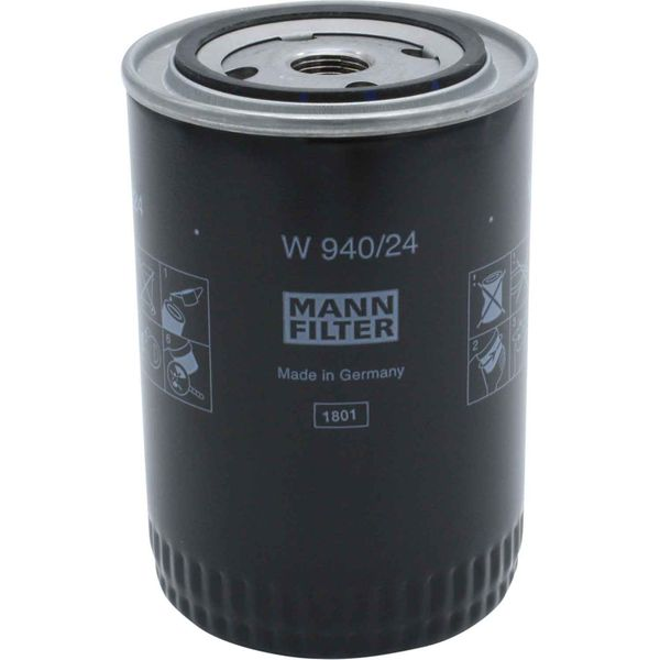 Mann W 940/24 Marine Spin-On Oil Filter Element For Perkins M90 1004