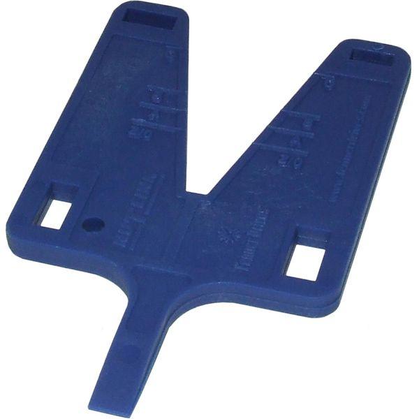 Link Belt Adjusting Tool & Instruction Card