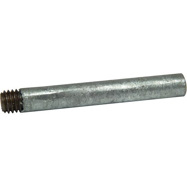 "MG Duff Universal Zinc Pencil Engine Anode (10mm x 75mm x 3/8"" Thread)"