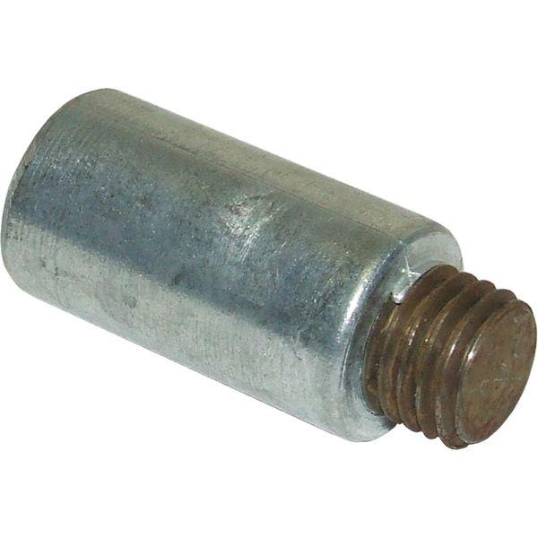 "MG Duff Universal Zinc Pencil Engine Anode (25mm x 51mm x 3/4"" Thread)"
