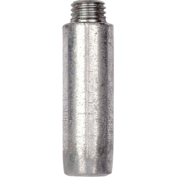 "MG Duff Universal Zinc Pencil Engine Anode (25mm x 75mm x 3/4"" Thread)"