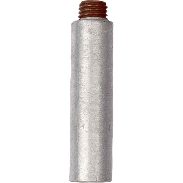 "MG Duff Universal Zinc Pencil Engine Anode (25mm x 100mm x 3/4"")"