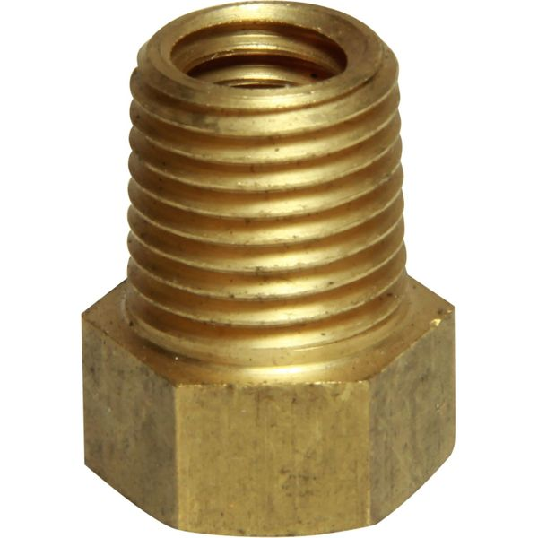 "MG Duff Brass Plug for Universal Pencil Anodes (1/4"" NPT x 3/8"" UNC)"
