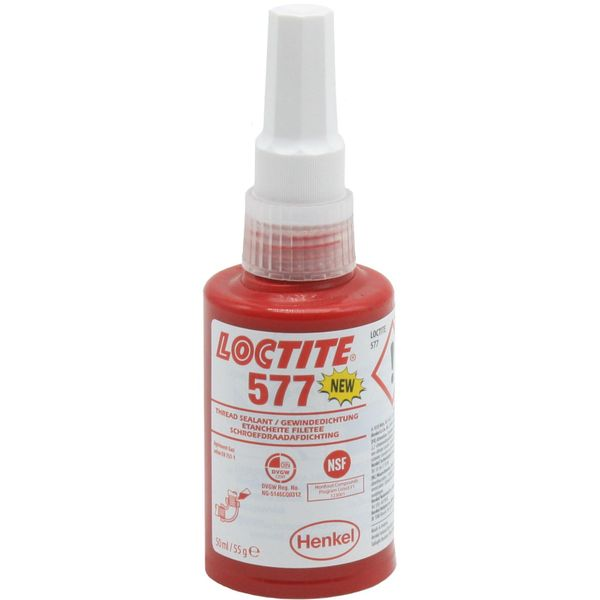 Loctite 577 Medium Strength Thread Sealant (50ml)