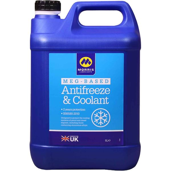 Morris Engine Antifreeze (5 Litre Bottle)