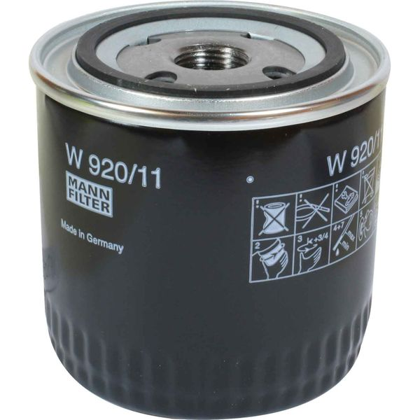 Spin-On Oil Filter For Perkins Prima Diesel Engines