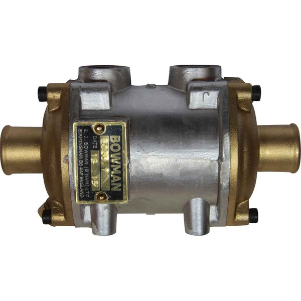 "Bowman EC80 Oil Cooler (80HP / 1/2"" BSP Oil / 32mm ID Water)"