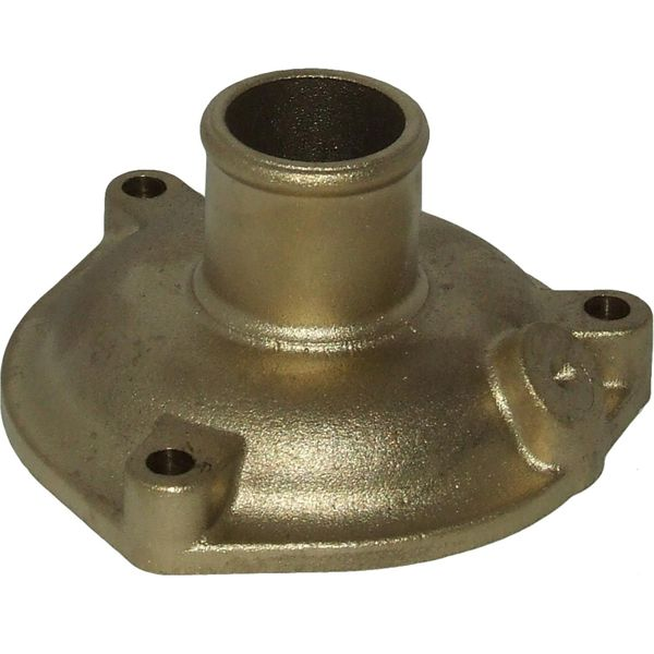 Bowman Straight Brass End Cap for EC Oil Coolers (32mm Outlet)