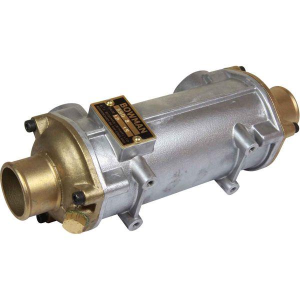 "Bowman EC100 Oil Cooler (120HP / 3/4"" BSP Oil / 45mm ID Water)"