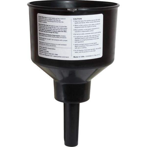 Racor RFF3C Fuel Filter Funnel (15 LPM / 50 Micron)