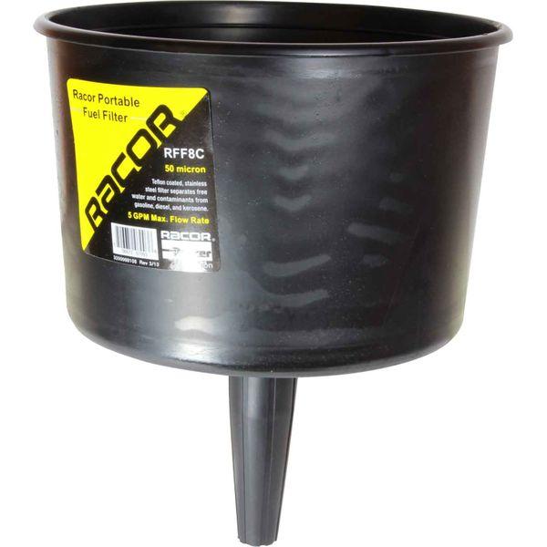 Racor RFF8C Fuel Filter Funnel (19 LPM / 50 Micron)