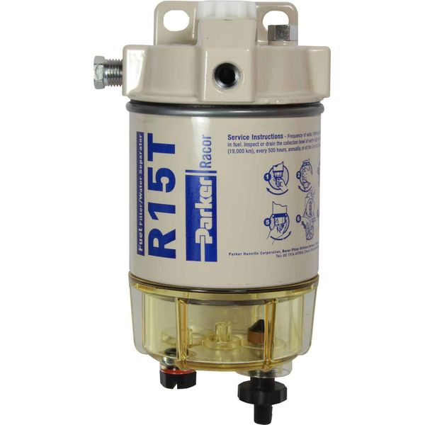 Racor 215R10 Fuel Filter (10 Micron / Clear Bowl)