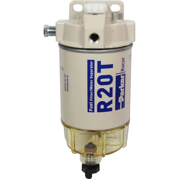 Racor 230R10 Fuel Filter (10 Micron / Clear Bowl)