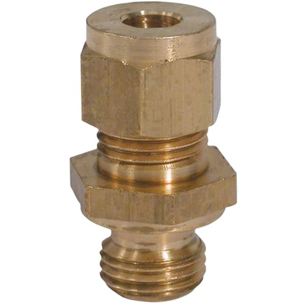 "Union Adaptor Fitting (1/2"" UNF Male to 1/4"" Compression)"
