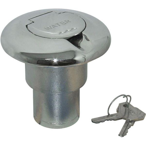 4Dek Stainless Steel Water Deck Filler for 38mm Hose