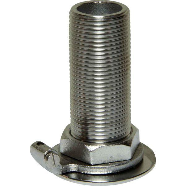 "Seaflow Stainless Steel 316 Skin Fitting (3/4"" BSP, 68mm Long)"
