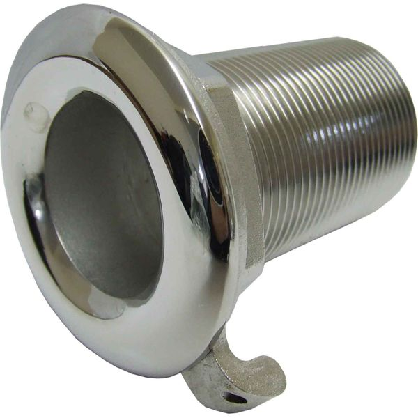 "Seaflow Stainless Steel 316 Skin Fitting (1-1/2"" BSP, 80mm Long)"
