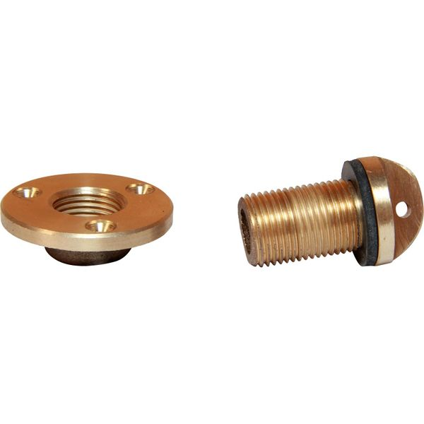 "Seaflow Bronze Drain Plug Assembly (1/2"" BSP Male Thread)"