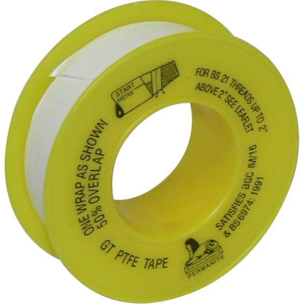 Seaflow Gas Thread Sealant PTFE Tape (12mm Width / 5m Roll)