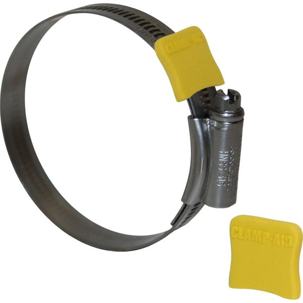 "Clamp Aid Yellow Hose Clip End Guards (1/2"" Wide / Pack of 20)"