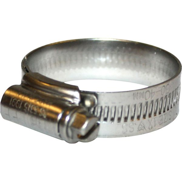 Jubilee Stainless Steel 316 Hose Clip (30mm - 40mm Hose Diameter)
