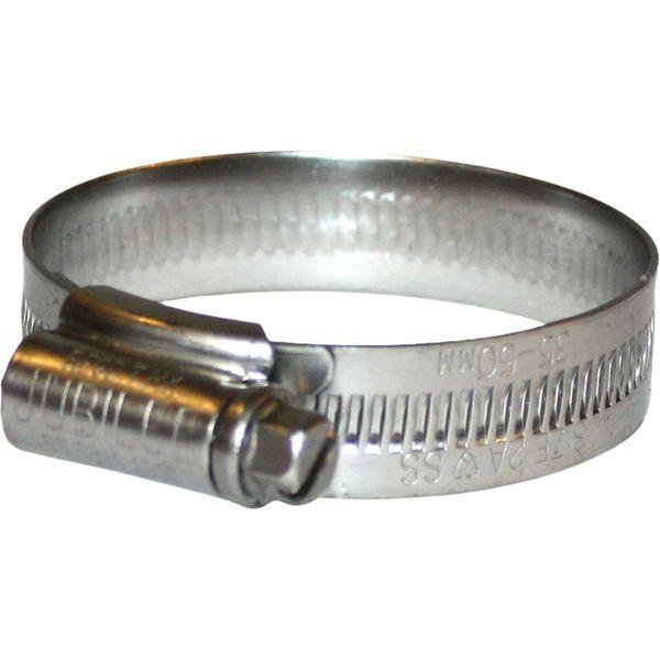Jubilee Stainless Steel 316 Hose Clip (35mm - 50mm Hose Diameter)
