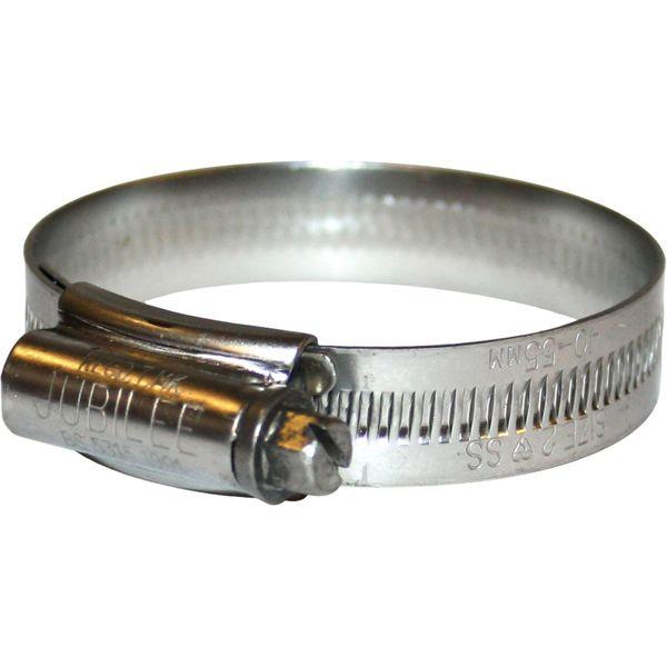 Jubilee Stainless Steel 316 Hose Clip (40mm - 55mm Hose Diameter)