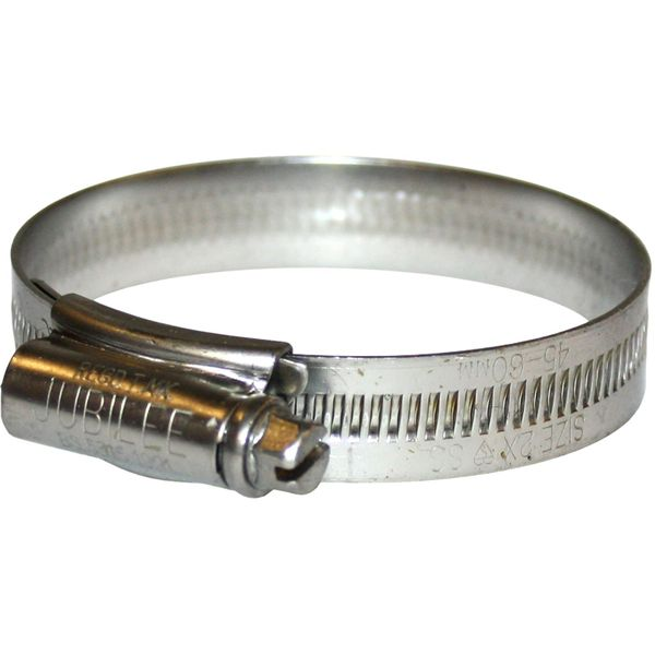 Jubilee Stainless Steel 316 Hose Clip (45mm - 60mm Hose Diameter)