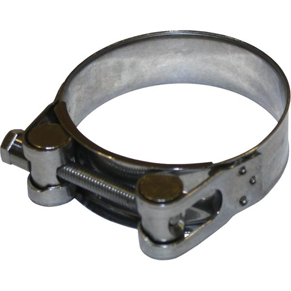 Jubilee Superclamp Stainless Steel 316 Hose Clamp (60mm - 63mm Hose)