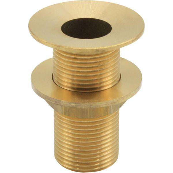 "Maestrini Brass Countersunk Deck Drain (1-1/4"" BSP Thread)"