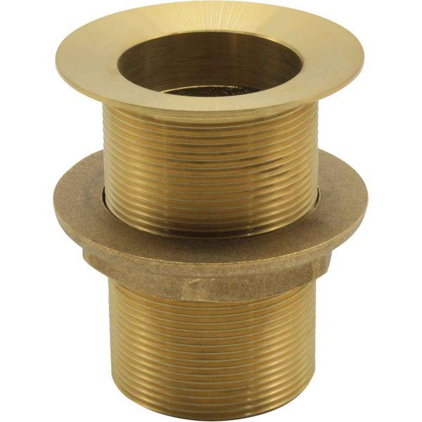 "Maestrini Brass Countersunk Deck Drain (1-1/2"" BSP Thread)"
