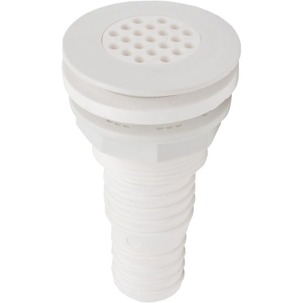 Seaflow Plastic Straight Deck Drain (32mm and 38mm Hose)