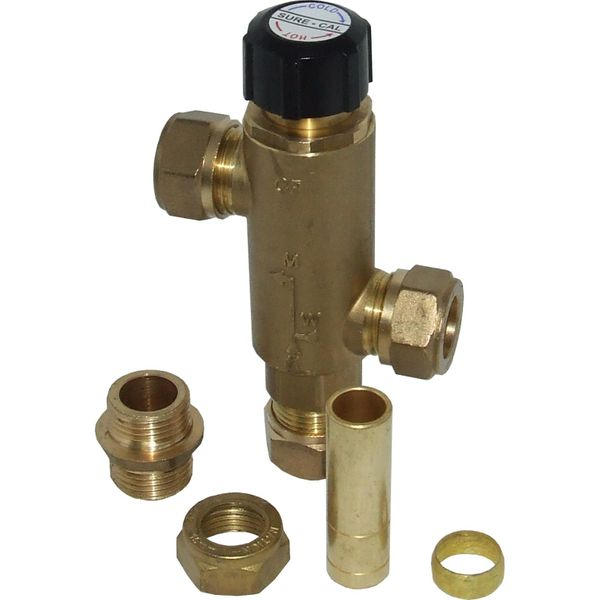 Hotpot Calorifier Thermostatic Mixing Valve (15mm Fittings)