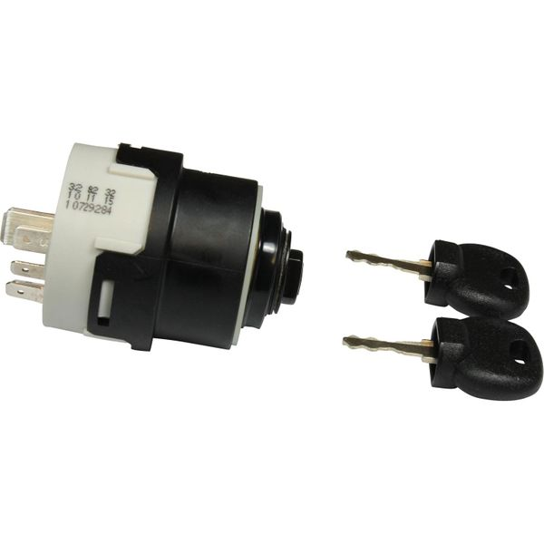 ASAP Electrical 4 Position Ignition Switch with Two Keys (Waterproof)