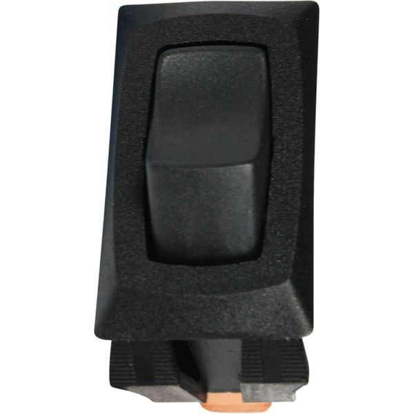 ASAP Electrical Plain Black Rocker Switch (Off / On)