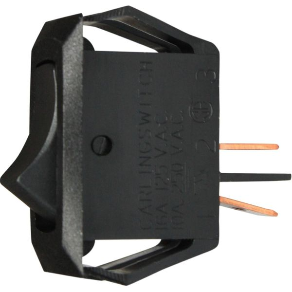 ASAP Electrical Plain Black Rocker Switch (Off / On)