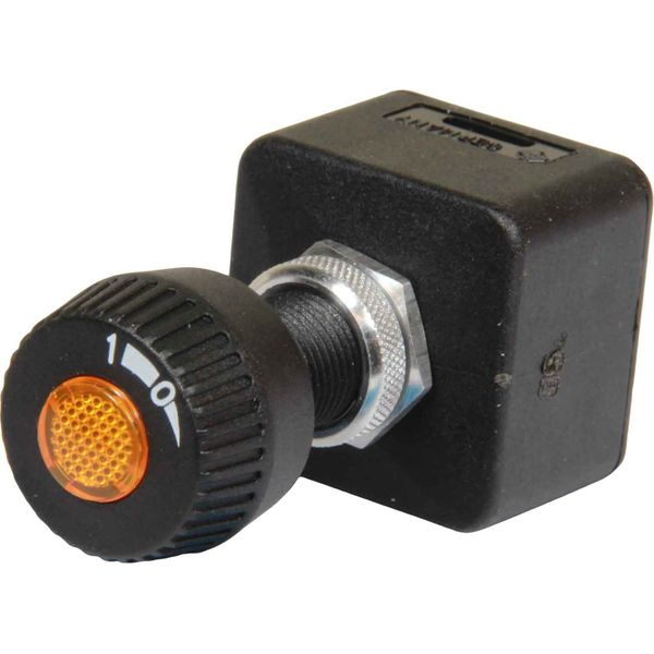 ASAP Electrical Water Resistant Turn Switch (2 Position / Illuminated)