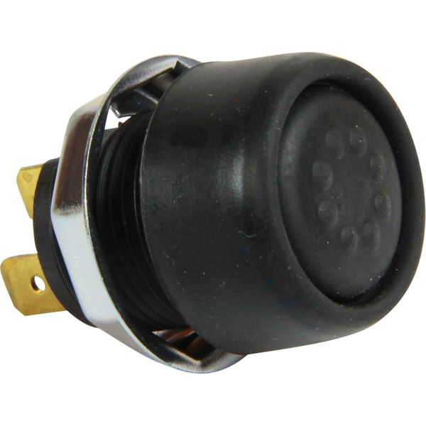 Splash Proof Push Switch (Push On / Sprung Off / 22mm Cut Out)