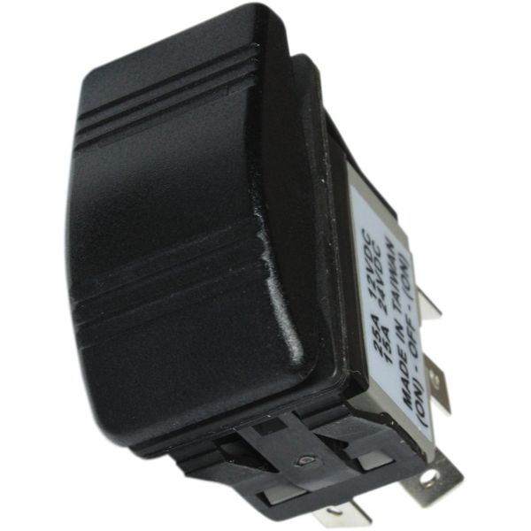 ASAP Electrical Standard Rocker Switch (Spring On / Off / Spring On)
