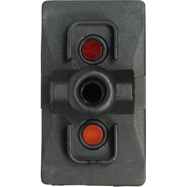 ASAP Electrical Rocker Switch Body with LED (Off / Spring On)