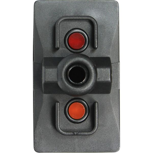 ASAP Electrical Rocker Switch Body with LED (On / Off / Spring On)