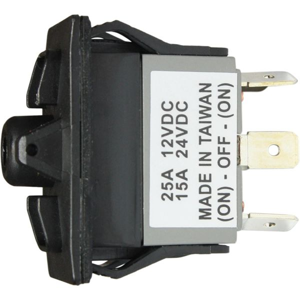 ASAP Electrical Rocker Switch Body (Spring On / Off / Spring On)
