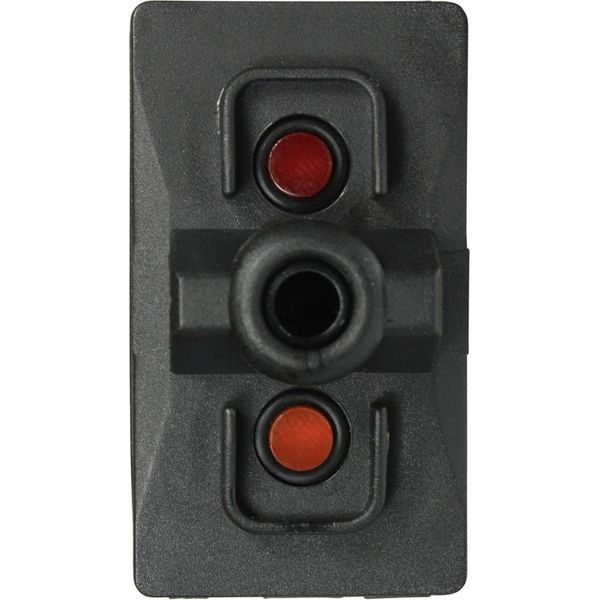 ASAP Electrical Rocker Switch Body (LED, Spring On / Off / Spring On)