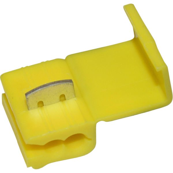 Yellow Scotch Lock for 4mm²-6mm² Cable (25 Pack)