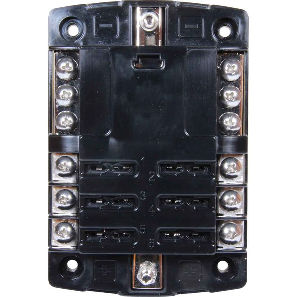 Osculati Fuse Box for 6 Blade Fuses with Clear Snap Lid