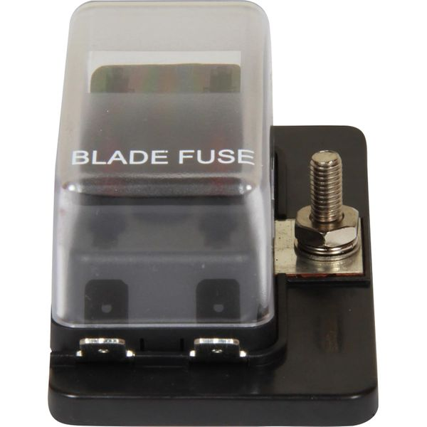 ASAP Electrical Fuse Box for 4 Blade Fuses (LED Indicator)