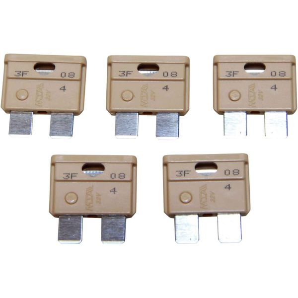 ASAP Electrical Blade Fuse (5 Amp / 5 Pack)