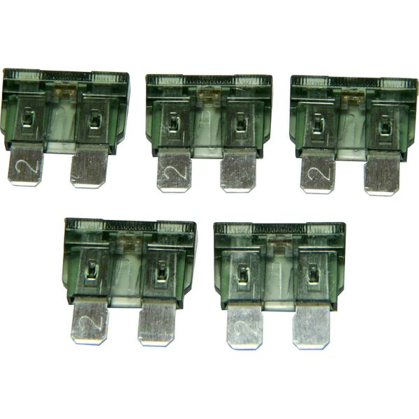 ASAP Electrical LED Blade Fuse (2 Amp / 5 Pack)